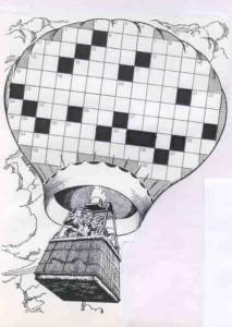 kruiswoordraadsel-luchtballon